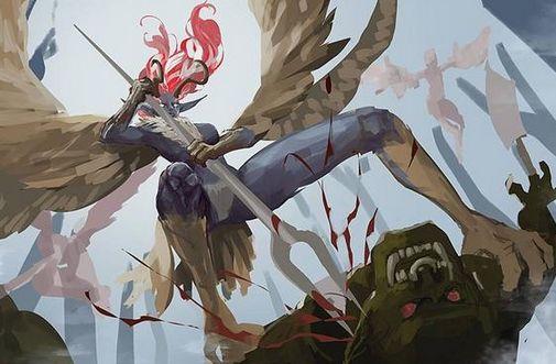 疑似LOL未来发布内容遭泄露:EZ美少女皮肤?新英雄是鹰身人